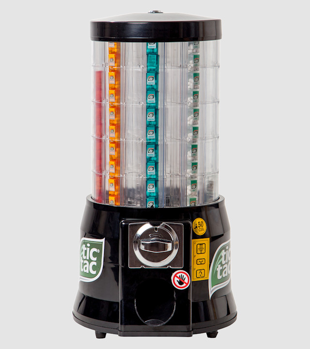 Automatic dispenser for 39 tic tac 39 clenport - Distributeur de capsules nespresso ...